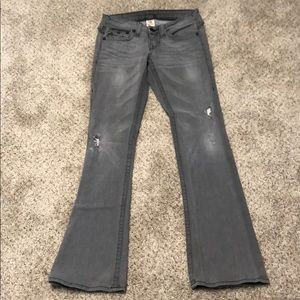 True Religion Jeans - True Religion Becky gray jeans. Size 27.